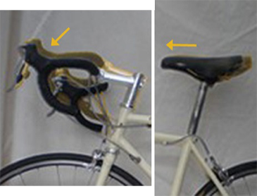 More sporty - lower bars, saddle more forward, more arched back